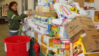 Campus Food Drive Benefits Daily Bread