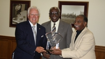 Local Earns Pioneer Award at MLK Jr. Celebration