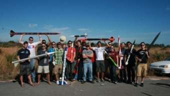 Student Rocket Research Society Flies High
