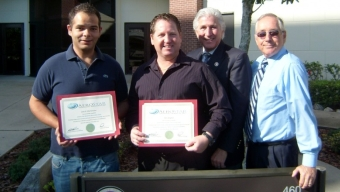 First Two Students Complete New Aviation Type Rating Courses