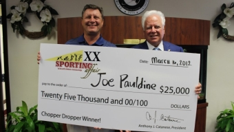 Trustee Joh Sells Ticket to Chopper Dropper Big Winner