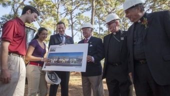 Construction Starts on New Residence Hall