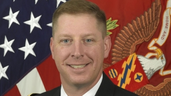Mike Perry Transfers National Guard Command