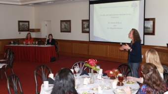 ICC Hosts Luncheon for Engineering College Faculty
