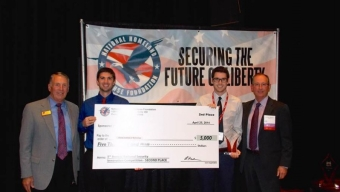 Student Team Takes Second in National Science Competition