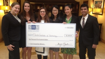 I/O Psychology Grad Students Win Case Study Competitions, Headed to Nationals
