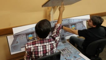 Human Touch, High Value: Cockpit Trainer Helps Students