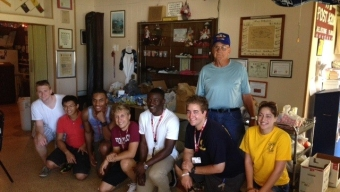 Food Donated to VFW, Daily Bread