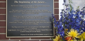 Historical Marker Dedicated on Campus