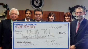 Brevard Community Foundation Awards $36K Grant for Medical Research