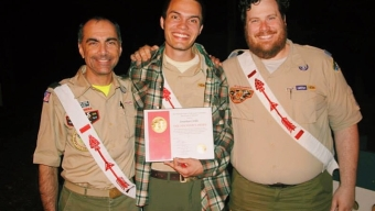 Student Wins Boy Scout Honor