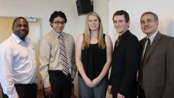 Scholarships, Honors for Three CoE Students