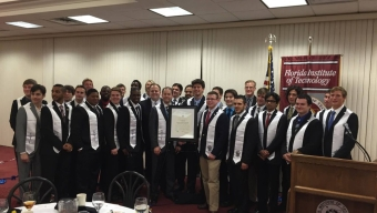 Sigma Tau Gamma Receives Charter, Becomes Eighth Fraternity at Florida Tech