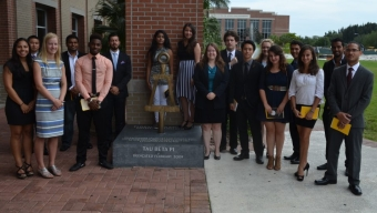 17 Florida Tech Students Inducted to National Honor Society