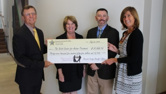 Scott Center Receives Donation from Dancing Event