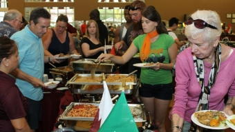 Second Annual International Dinner Series Underway