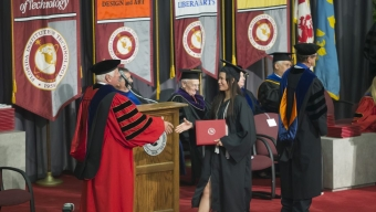 Florida Tech Holds Fall Commencement Ceremonies