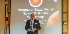 Buzz Aldrin Space Institute Holds First Workshop