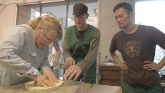Adjunct Instructor Returns from Residency in Taiwan