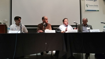 Florida Tech Faculty Hold Panel Discussion at Art of Sustainability
