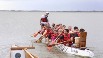 'Wellness Team' Wins at Dragon Boat Races