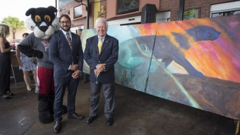 Mural Dedicated in Downtown Melbourne