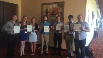 Students Excel at Tri Beta Conference