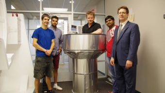 Doule, Students Win Spacecraft Interior Design Contest