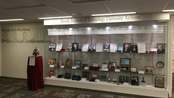 Evans Library Offers Presidents Exhibition