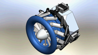 Rusovici Wins Patent for Device Improving Smaller Jet Engines