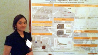 Chemical Engineering Student Wins in Poster Competition
