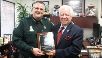 Catanese Presented Leadership Award