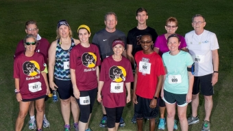 Florida Tech Takes Third in Corporate 5K