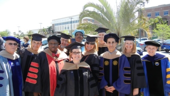 Inaugural DBA Cohort Conferred Degrees