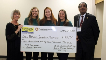 Rockledge High Wins 1st in Ethics Competition