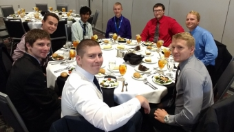 Students Attend, Present at AIAA Conference