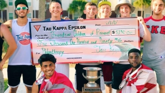 Greek Week Efforts Raise $9K for Community Organization