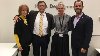 McCay Meets with Alumna at New York Times