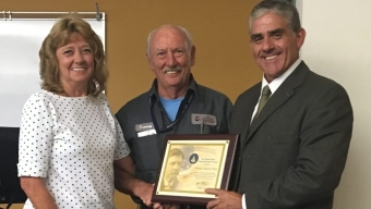 FIT Aviation Inspector Hay Honored with FAA Award