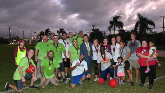 Athletics Department Wins Inaugural Kickball Tournament