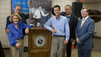 Grumman Retirees Honor Skurla, Florida Tech