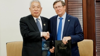 Beijing Institute of Technology Leaders Visit Florida Tech