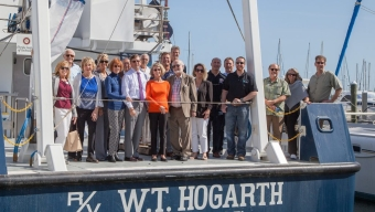Florida Tech–Sponsored Research Vessel Visits Port Canaveral