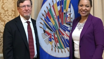 McCay Meets with OAS Official