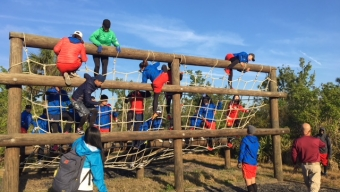 Chinese Olympic Hopefuls Train at Florida Tech Challenge Course