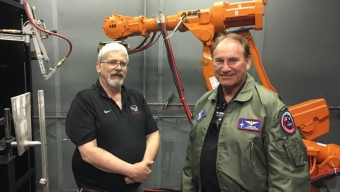 Starfighters Founder Visits ARL