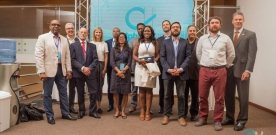 Fiedler Represents Florida Tech at Haiti Incubator Launch