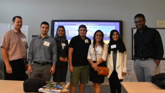 Using NSF Travel Grants, Students Attend Conference, Present Papers
