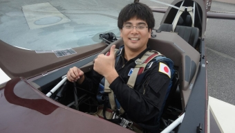 Recent Graduate Participates in Space Vehicle Research Training