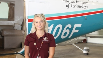 F.I.T. Aviation Instructor Helps Hurricane Michael Victims